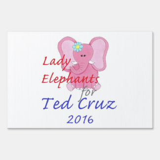 TED CRUZ 2016 SIGN