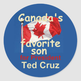 Ted CRUZ 2016 Sticker