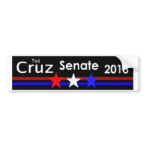 Ted Cruz 2018 Senate Bumper sticker