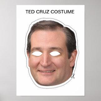 Ted Cruz Costume Poster