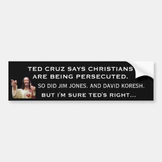 Ted Cruz False Prophet Bumper Sticker