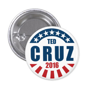 Ted Cruz for president 2016 Button