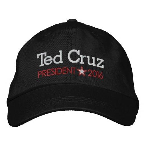 Ted Cruz for President 2016 Embroidered Baseball Cap