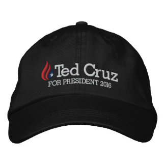 Ted Cruz for President 2016 Embroidered Baseball Cap