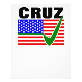Ted Cruz For President 2016 Flyer