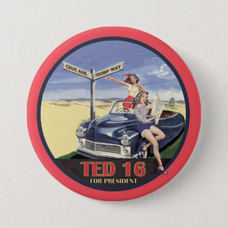 Ted Cruz for President 2016 Pinback Button