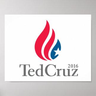 Ted Cruz for President 2016 poster