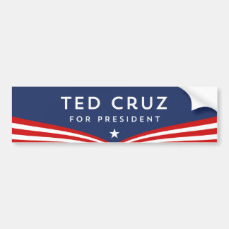 Ted Cruz for President Bumper Sticker