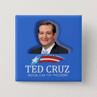 Ted Cruz for President in 2016 Pinback Button
