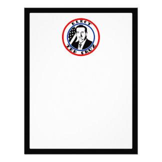 Ted Cruz For President Letterhead