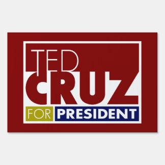 Ted Cruz for President V1 Yard Lawn Sign