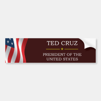Ted Cruz for President V3 Bumper Stickers