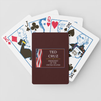 Ted Cruz for President V3 Bicycle Playing Cards
