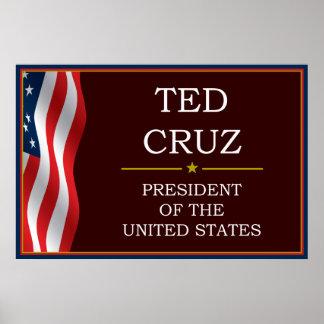 Ted Cruz for President V3 Print
