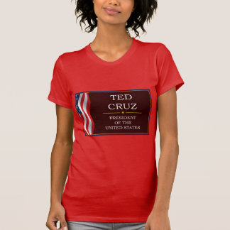 Ted Cruz for President V3 Tee Shirts
