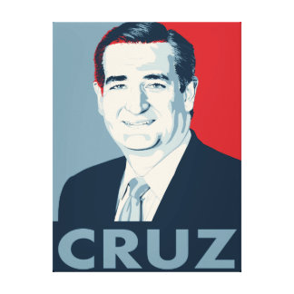 Ted Cruz Impresiones En Lienzo Estiradas