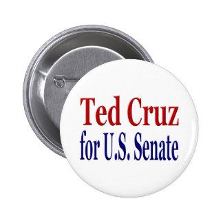 Ted Cruz para el botón del senado Pins