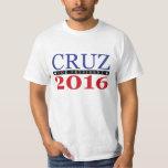 Ted Cruz para el presidente 2016 Playera