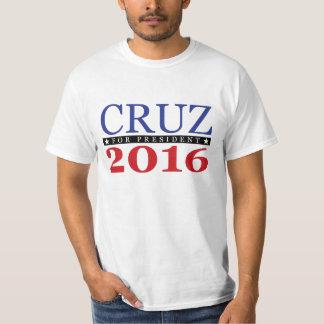 Ted Cruz para el presidente 2016 Playeras