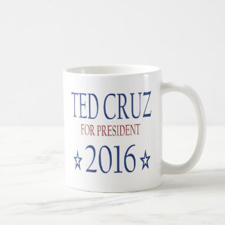 Ted Cruz para el presidente 2016 Taza Clásica
