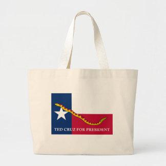 Ted Cruz para el presidente marina de guerra Jack Bolsa Tela Grande