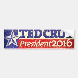 Ted Cruz para el presidente pegatina para el Pegatina Para Coche