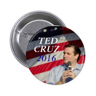 Ted Cruz para el presidente Pin Redondo 5 Cm
