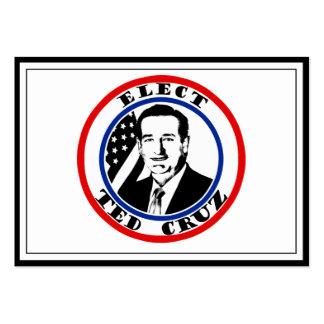 Ted Cruz para el presidente Tarjetas De Visita Grandes