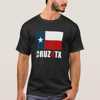 Ted Cruz para la camiseta oscura de Tejas Cruz4TX