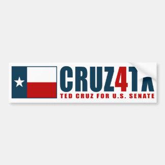 Ted Cruz para la pegatina para el parachoques de T Pegatina De Parachoque