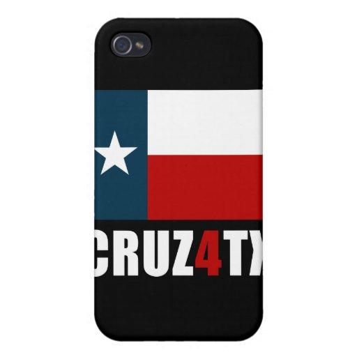 Ted Cruz para Tejas Cruz4TX iPhone 4 Carcasas