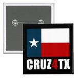Ted Cruz para Tejas Cruz4TX Pins