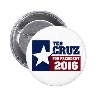 Ted Cruz Pin Redondo De 2 Pulgadas