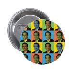 Ted Cruz Pop-Art Pinback Buttons