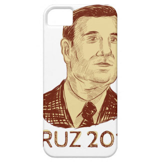 Ted Cruz President 2016 Drawing iPhone SE/5/5s Case
