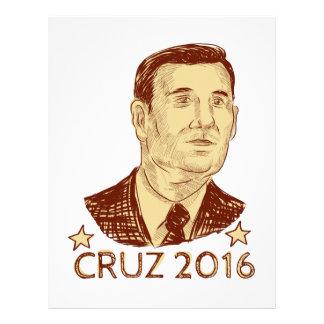 Ted Cruz President 2016 Drawing Letterhead
