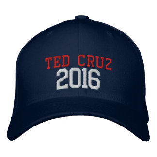 Ted Cruz President 2016 Embroidered Hat