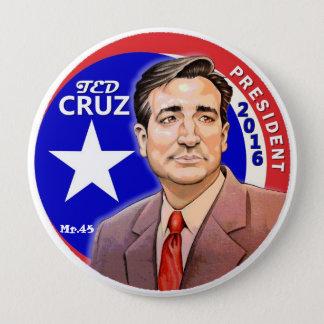 Ted Cruz President 2016 Pinback Button