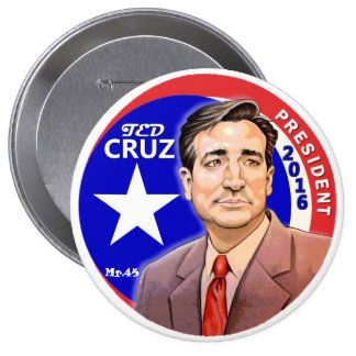 Ted Cruz President 2016 Pinback Button