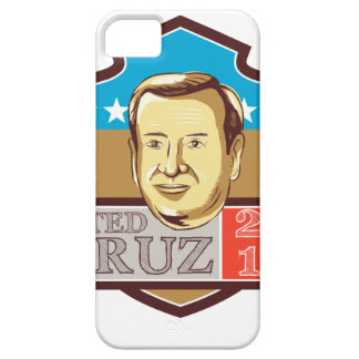 Ted Cruz President 2016 Republican Shield iPhone SE/5/5s Case