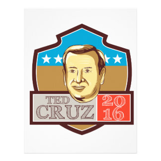 Ted Cruz President 2016 Republican Shield Letterhead