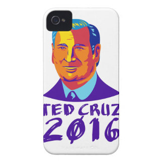 Ted Cruz President 2016 Retro iPhone 4 Case
