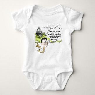 Ted Cruz Slithers del congreso divertido Body Para Bebé