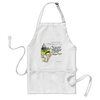 Ted Cruz Slithers From Congress Funny Adult Apron
