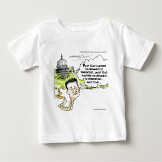 Ted Cruz Slithers From Congress Funny Baby T-Shirt