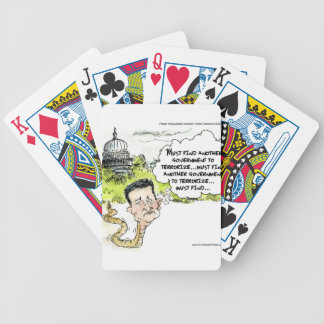 Ted Cruz Slithers From Congress Funny Bicycle Playing Cards