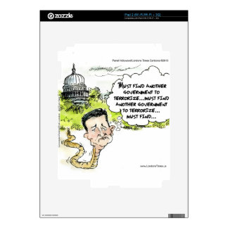 Ted Cruz Slithers From Congress Funny Decal For The iPad 2