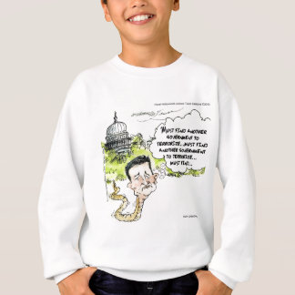 Ted Cruz Slithers From Congress Funny Sweatshirt