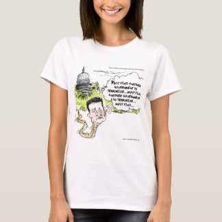 Ted Cruz Slithers From Congress Funny T-Shirt