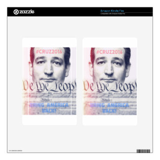 Ted Cruz - We the People Kindle Fire Skins